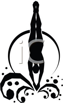 Diving clipart #5, Download drawings
