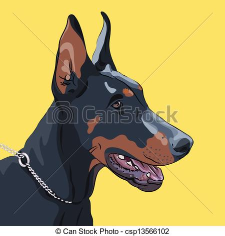 Doberman Pinscher clipart #14, Download drawings