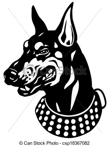 Doberman Pinscher clipart #10, Download drawings