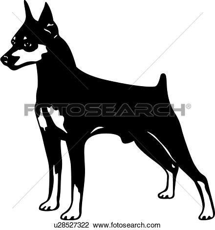 Doberman Pinscher clipart #9, Download drawings