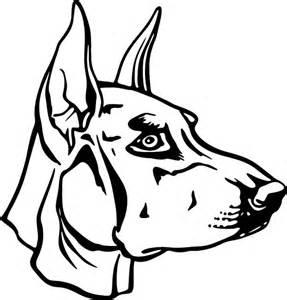 Doberman Pinscher coloring #13, Download drawings