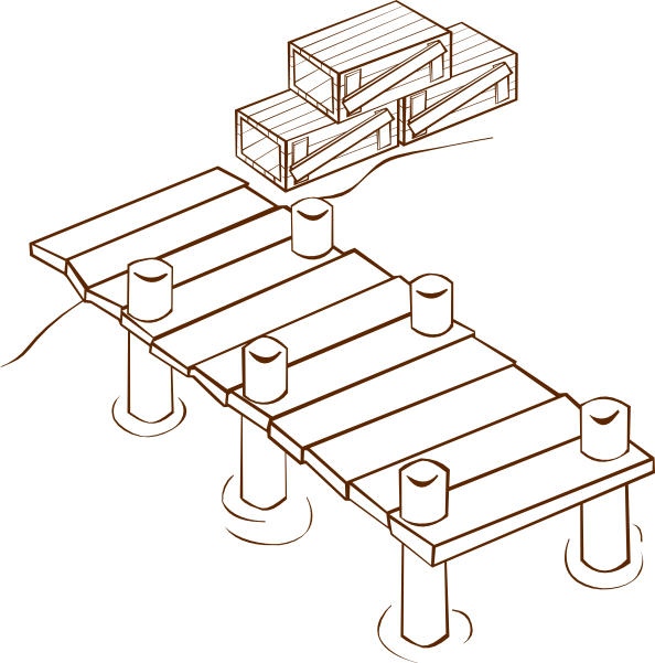 Dock clipart #7, Download drawings