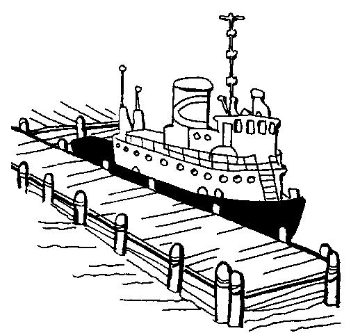 Dock coloring #1, Download drawings
