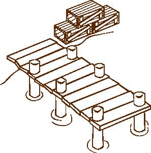 Dock coloring #7, Download drawings