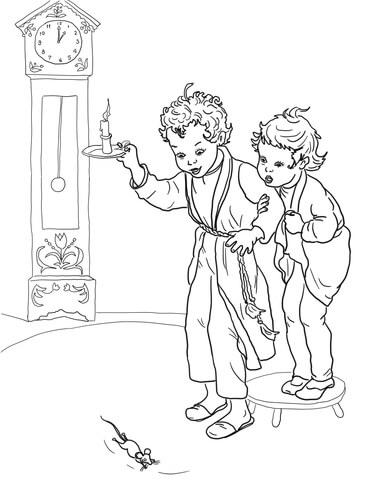 Dock coloring #13, Download drawings