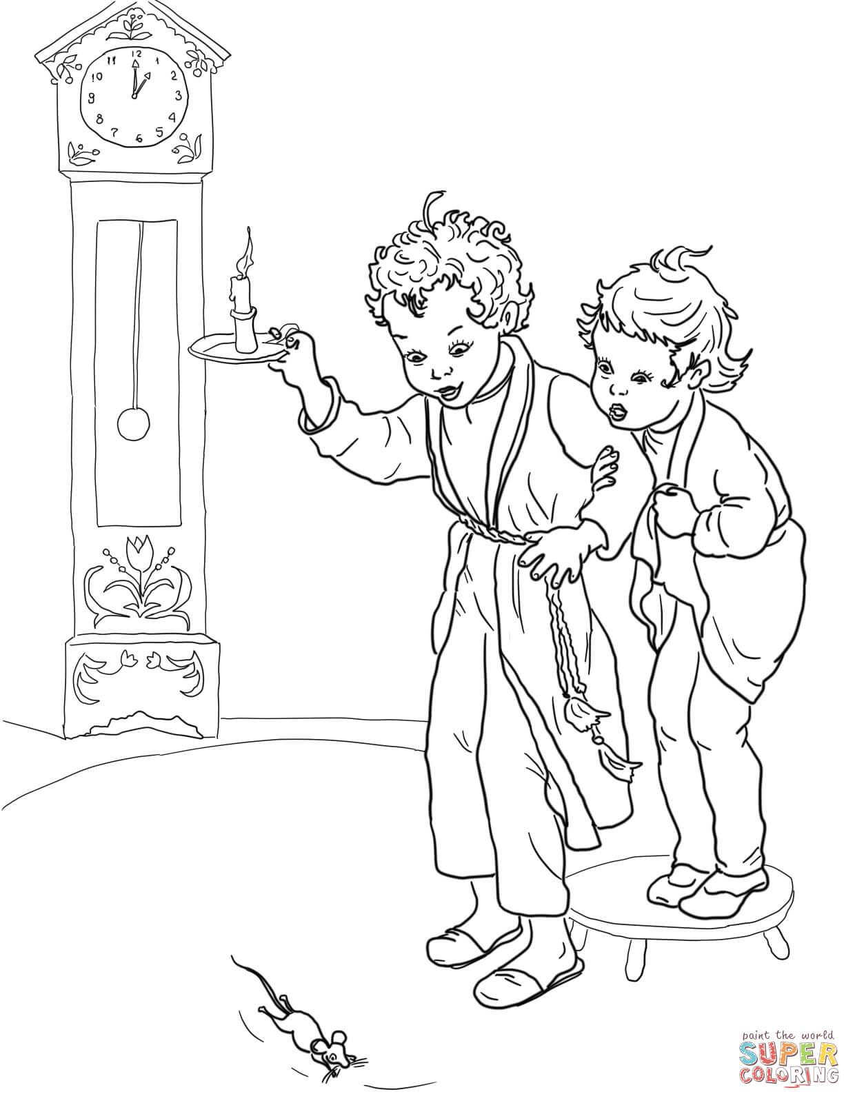 Dock coloring #14, Download drawings