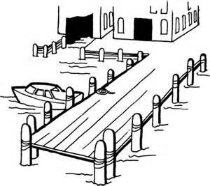 Dock coloring #20, Download drawings