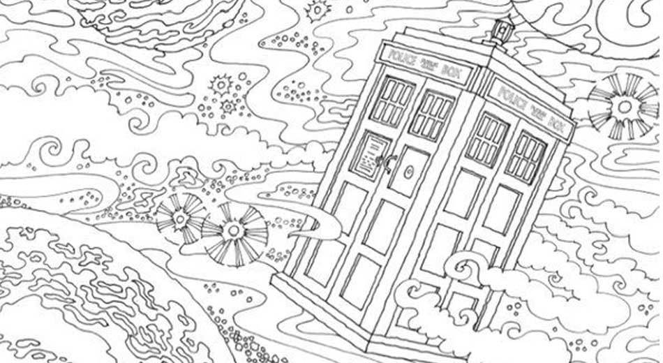 Doctor Who coloring #20, Download drawings