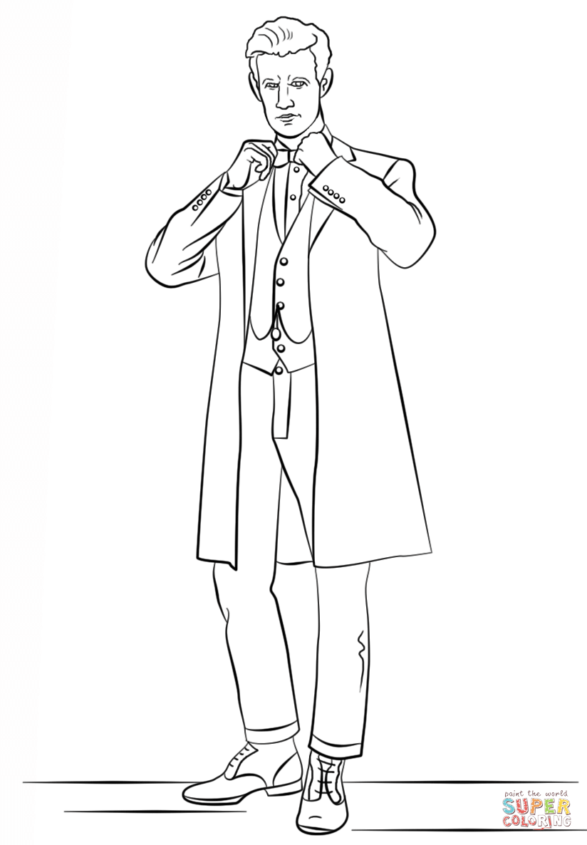 Doctor Who coloring #4, Download drawings