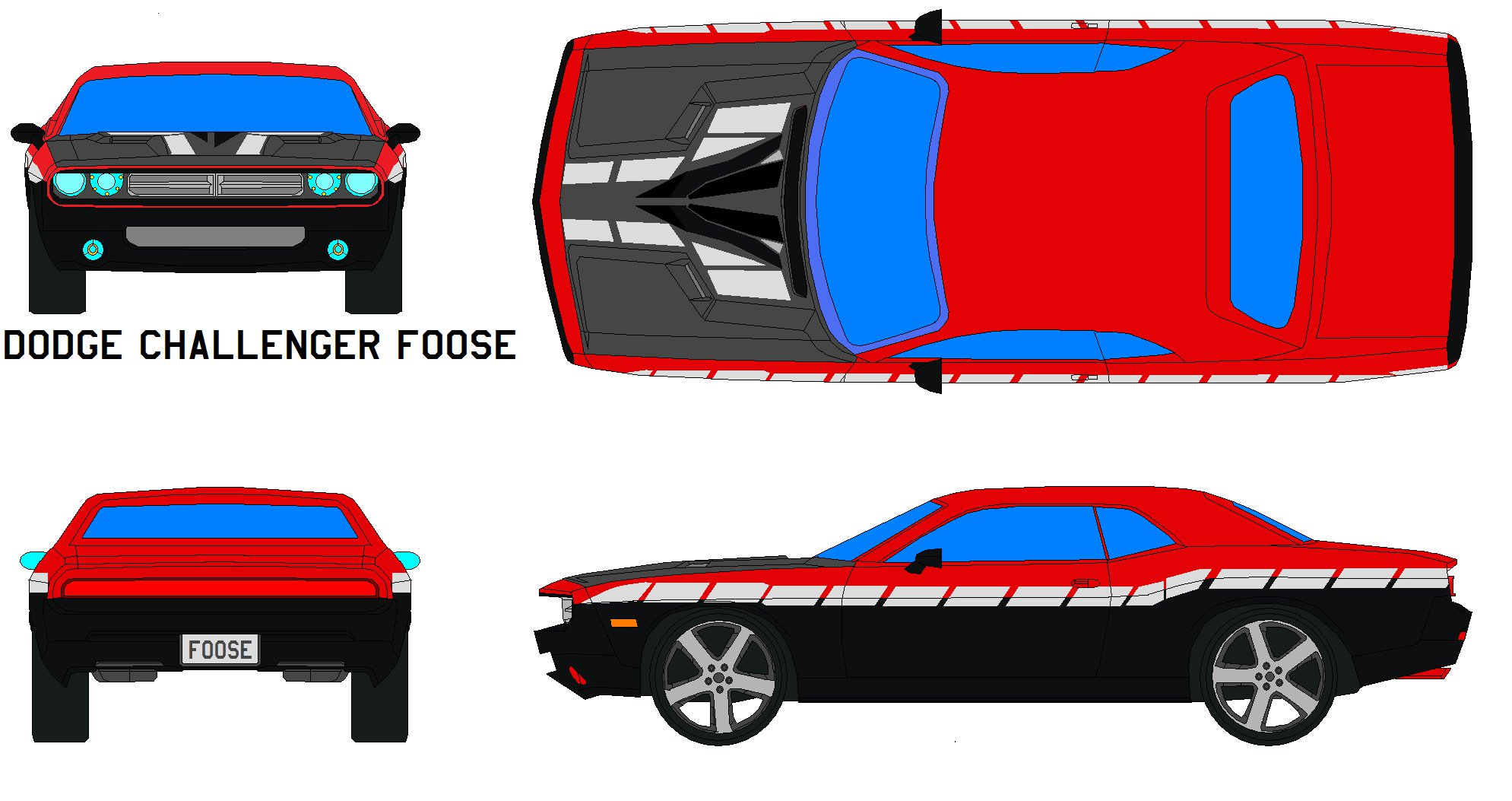 Dodge Challenger SRT8 clipart #7, Download drawings