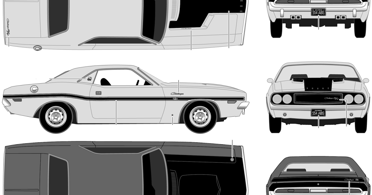 Dodge Challenger SRT8 clipart #2, Download drawings