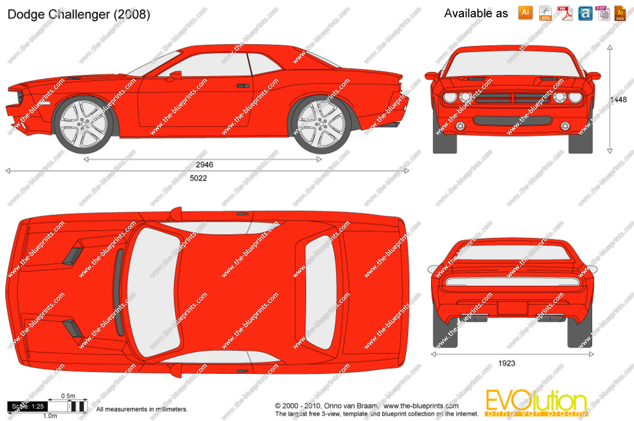 Dodge Challenger SRT8 clipart #9, Download drawings