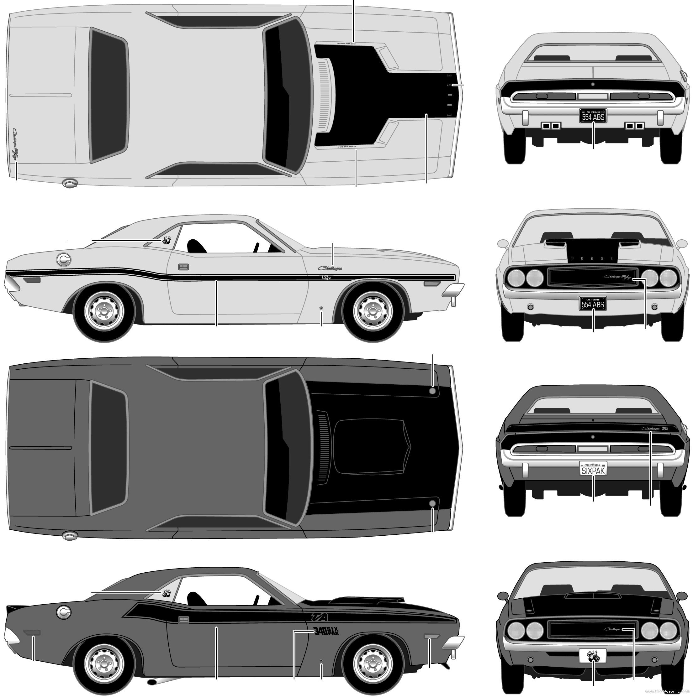 Dodge Challenger SRT8 clipart #18, Download drawings