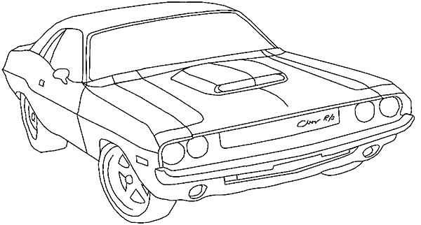 dodge challenger srt8 coloring  download dodge challenger