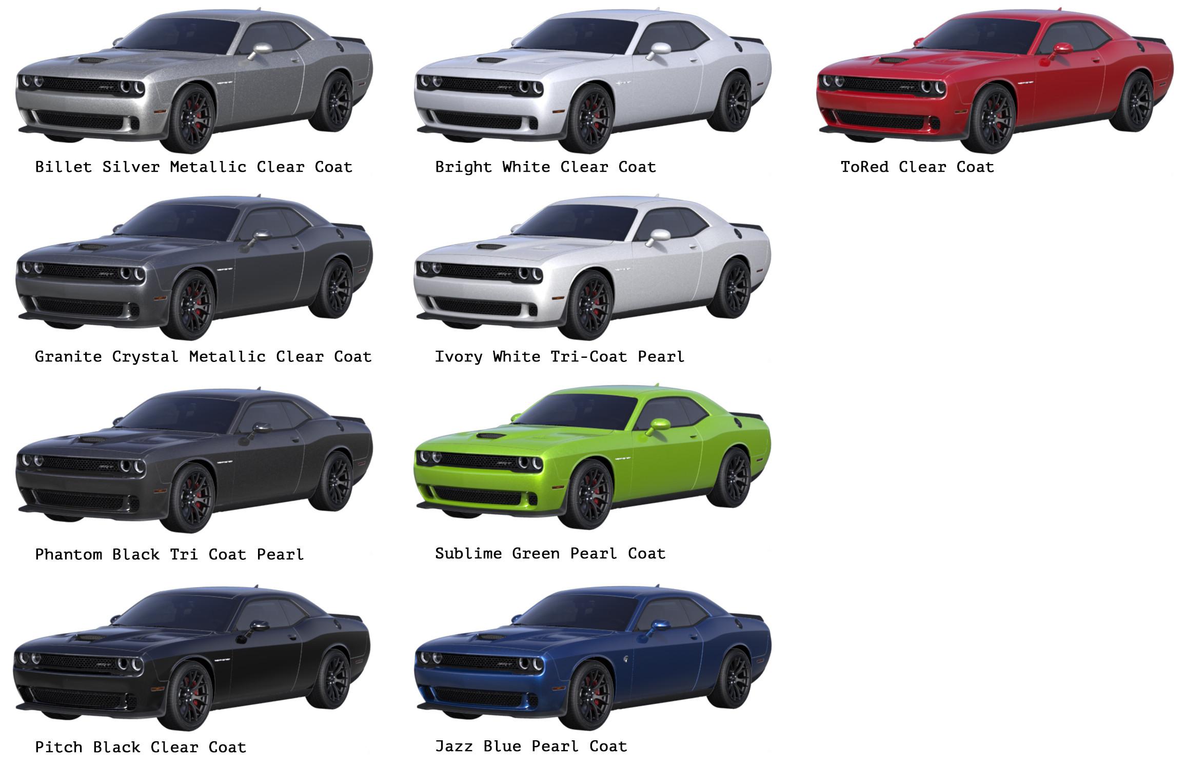 Dodge Challenger Srt8 Coloring Download Dodge Challenger
