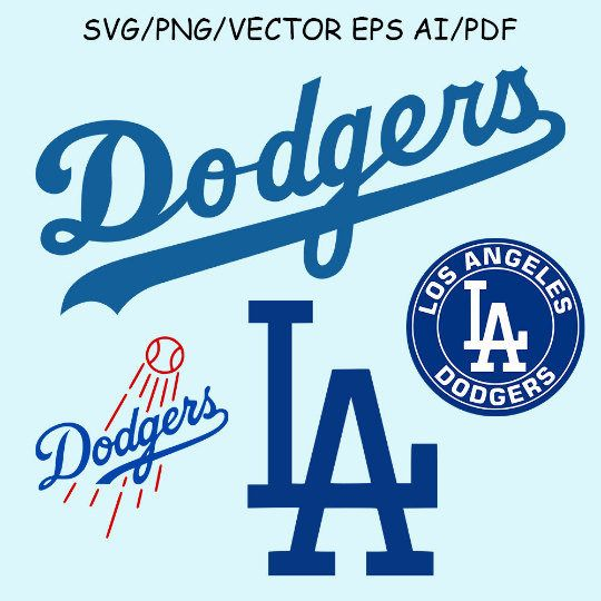 dodgers svg #988, Download drawings