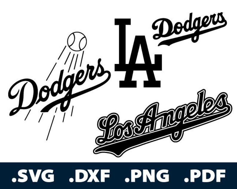 dodgers svg #980, Download drawings