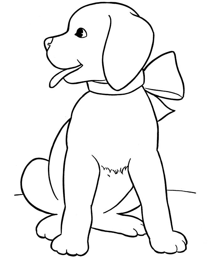 Dog coloring #11, Download drawings