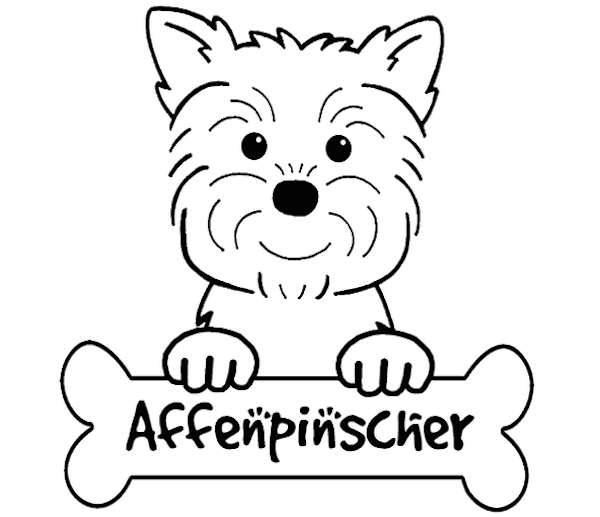 Dog coloring #20, Download drawings