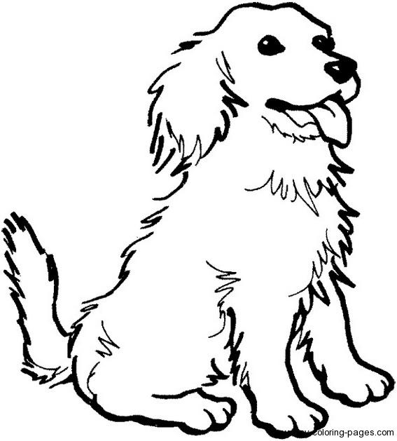 Dog coloring #18, Download drawings