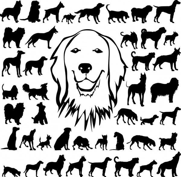Dog svg #9, Download drawings