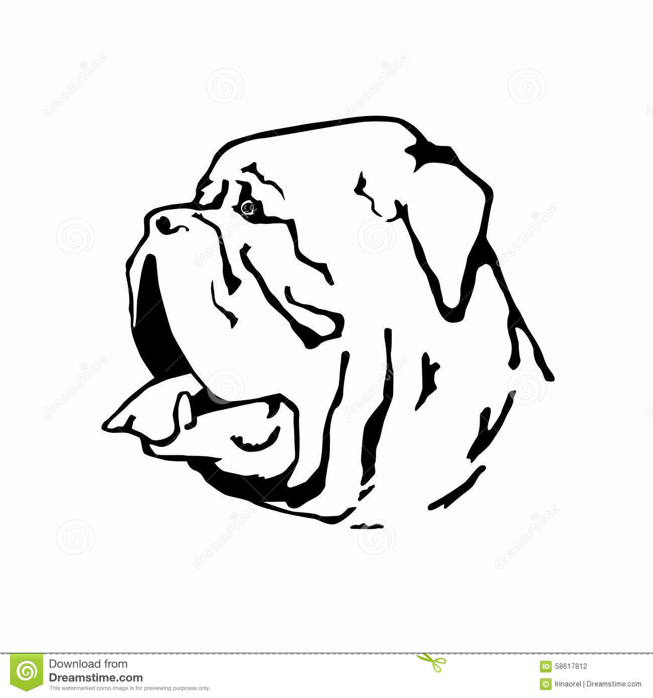 Dogue De Bordeaux clipart #5, Download drawings