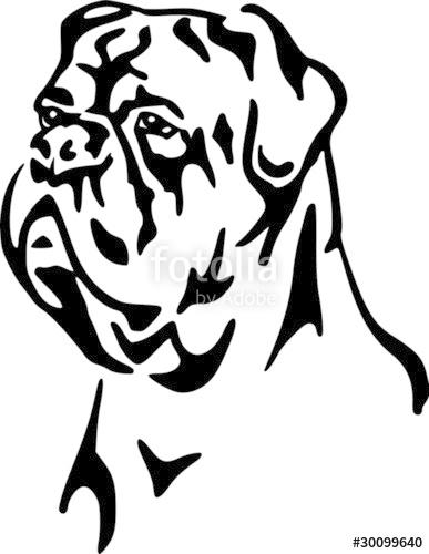 Dogue De Bordeaux clipart #11, Download drawings
