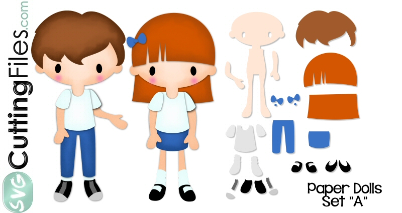 Doll svg #17, Download drawings
