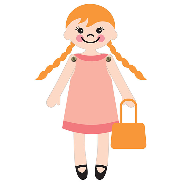 Doll svg #3, Download drawings