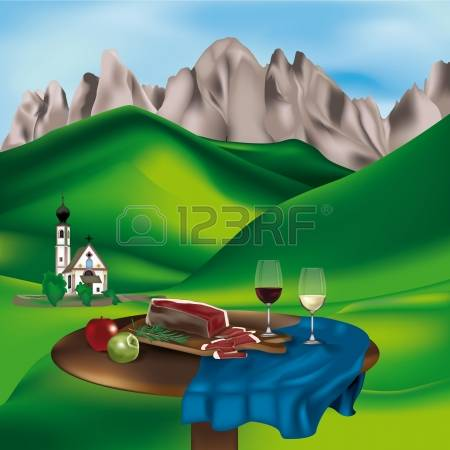 Dolomites clipart #15, Download drawings