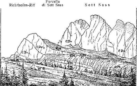 Dolomites coloring #17, Download drawings