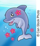 Dolphins clipart #2, Download drawings