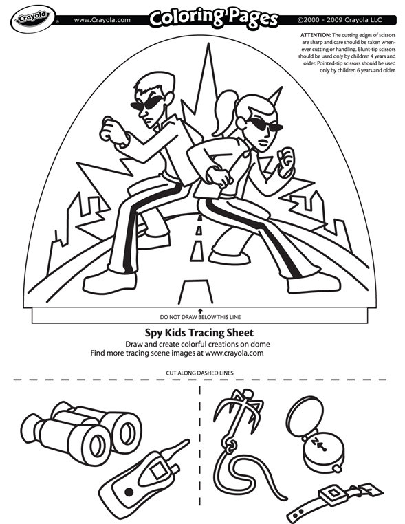Dome coloring #6, Download drawings