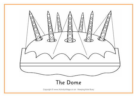 Dome coloring #2, Download drawings