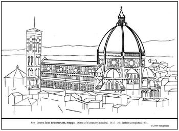 Dome coloring #16, Download drawings