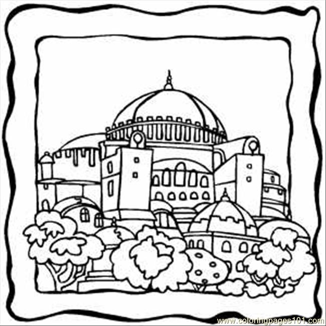 Dome coloring #11, Download drawings
