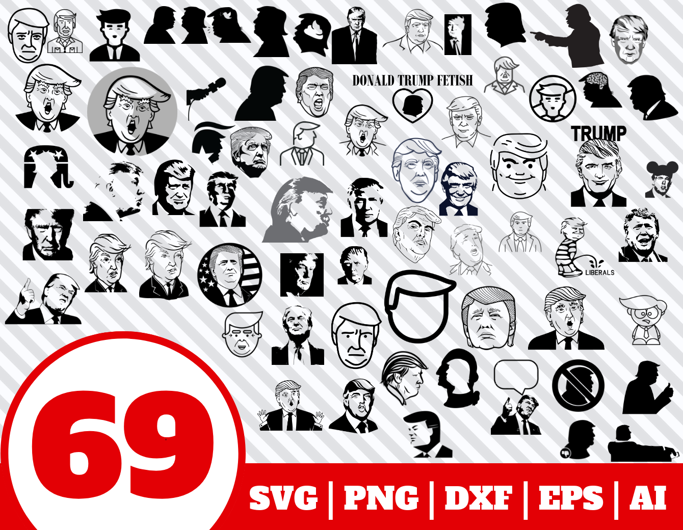 donald trump svg #123, Download drawings