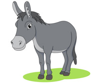 Donkey clipart #20, Download drawings