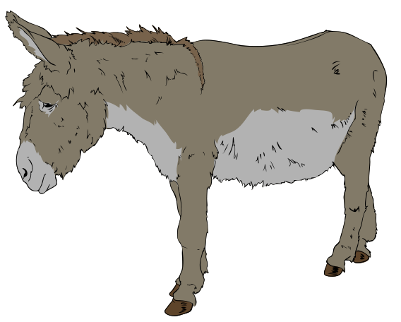 Donkey svg #14, Download drawings