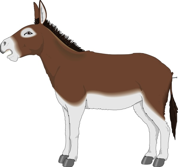 Donkey svg #11, Download drawings