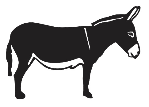 Donkey svg #8, Download drawings