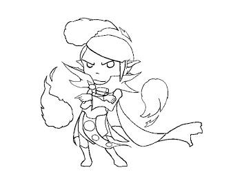 DotA 2 coloring #4, Download drawings