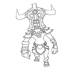 DotA 2 coloring #2, Download drawings