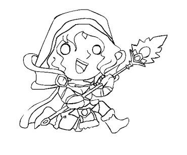 DotA 2 coloring #15, Download drawings