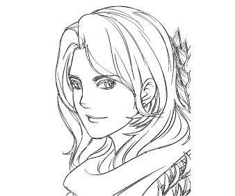 DotA 2 coloring #3, Download drawings