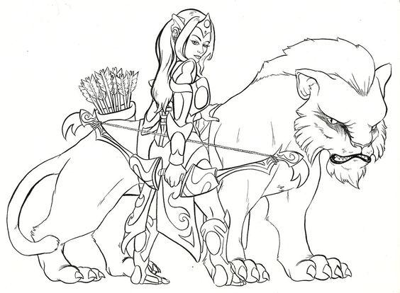 Dota coloring #2, Download drawings