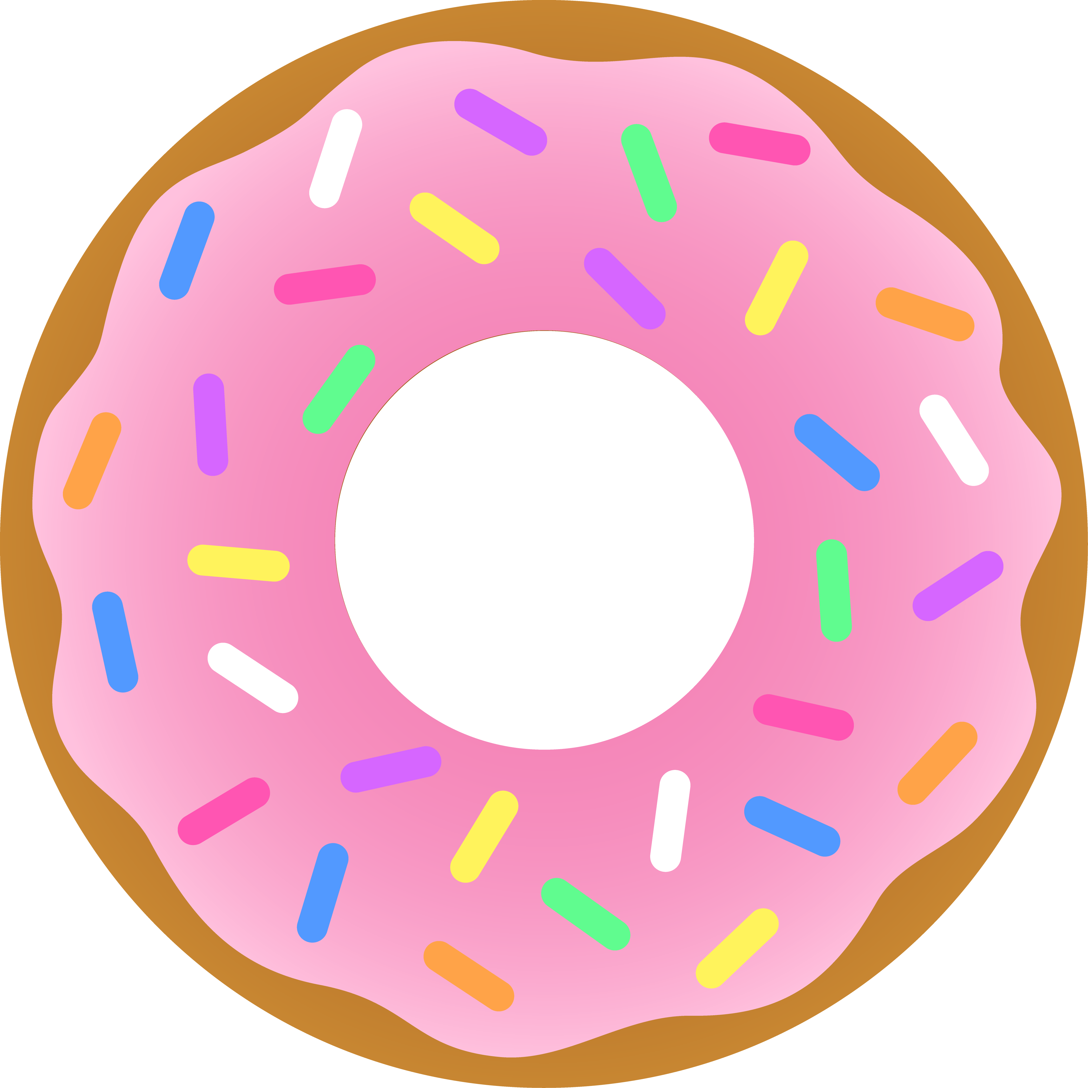 Doughnut clipart #1, Download drawings