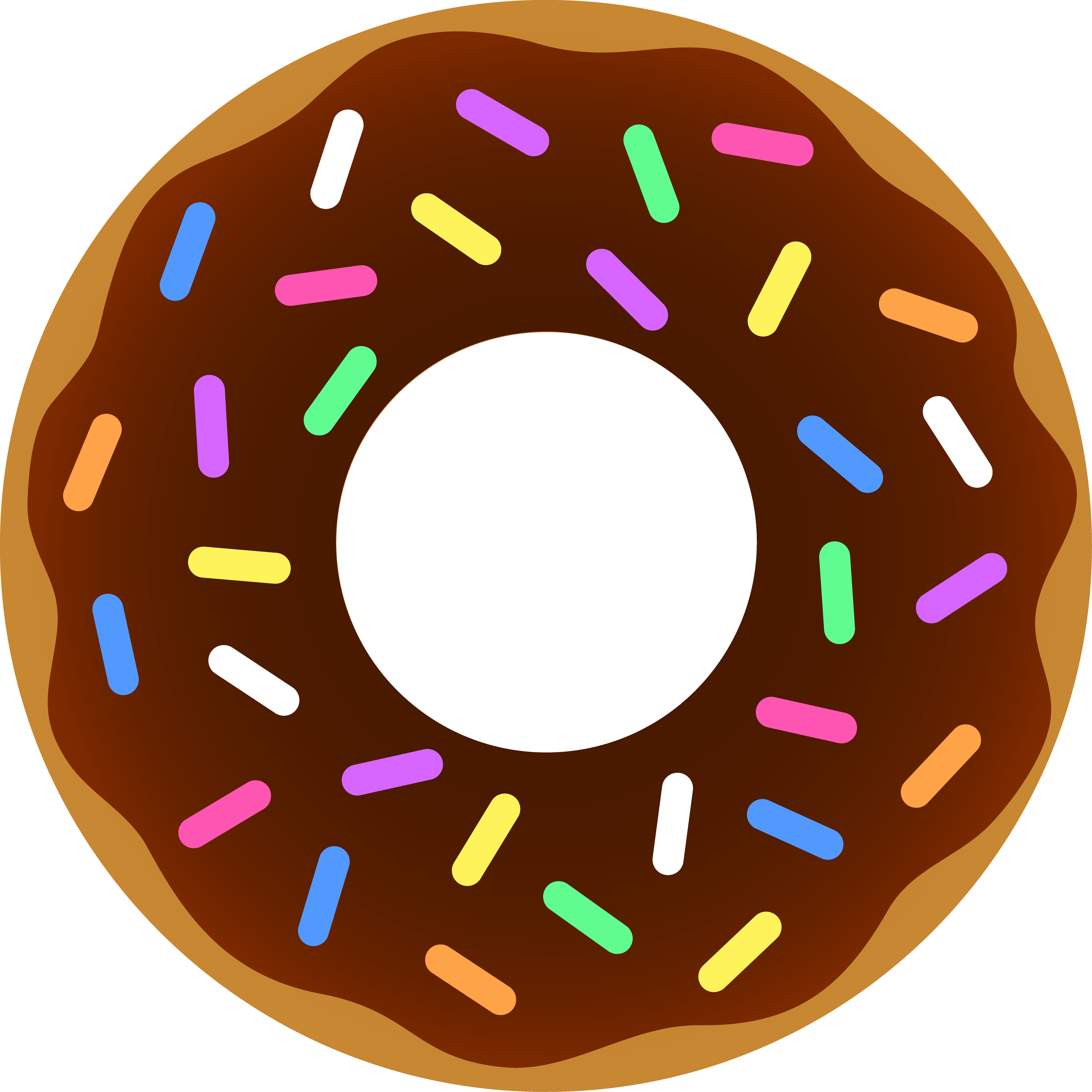 Doughnut clipart #2, Download drawings