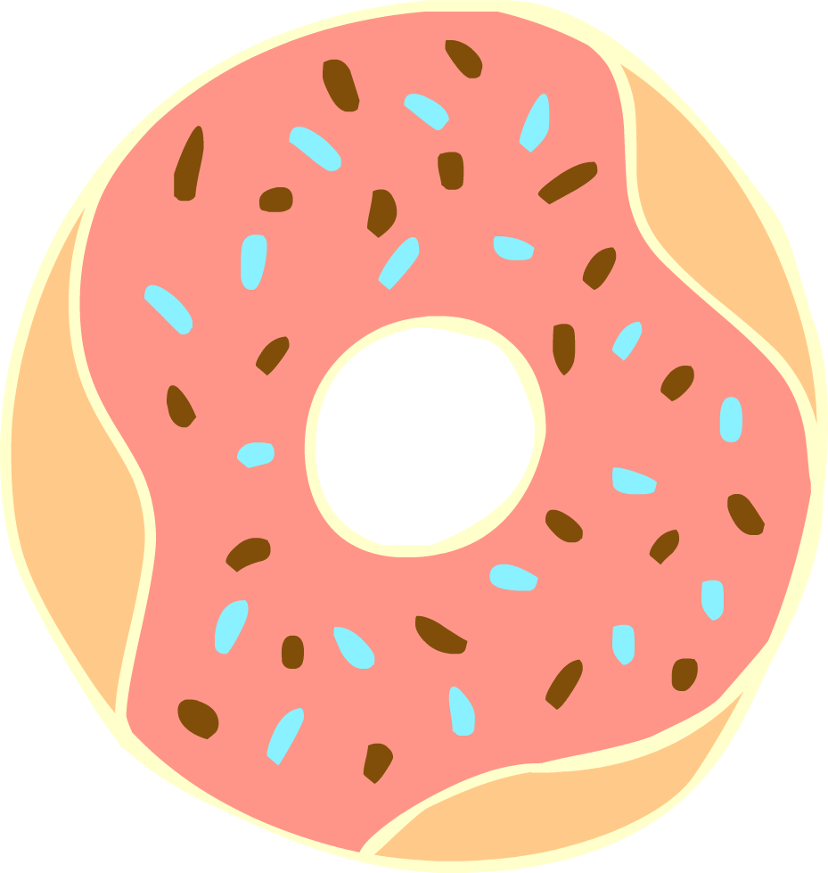 Doughnut clipart #15, Download drawings