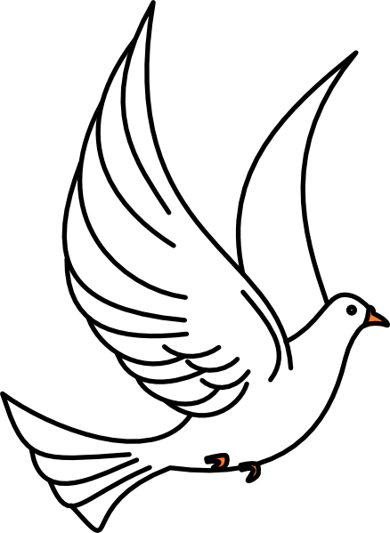 White Dove svg #6, Download drawings